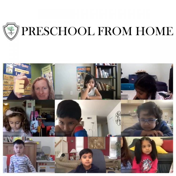 best online preschool- Preschool From Home- small classes, learning for children ages 3-5