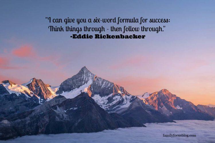follow through quotes