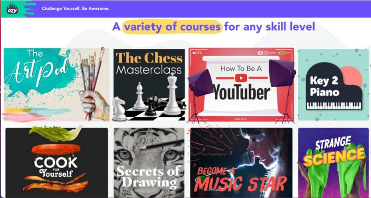 DIY courses for kids