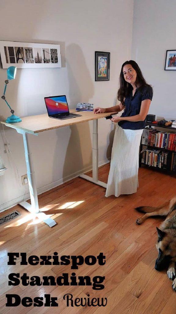 Flexispot Standing Desk Review- electric adjustable standing desk