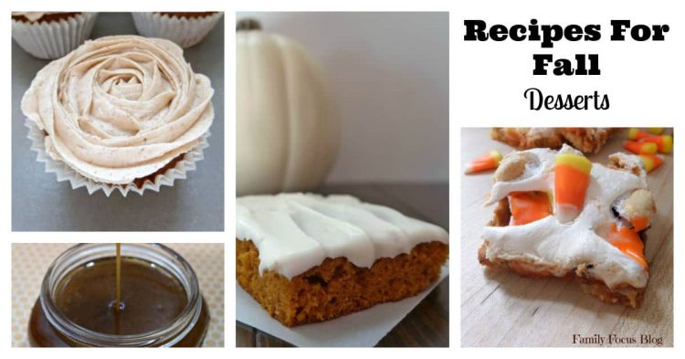 Recipes For Fall Desserts