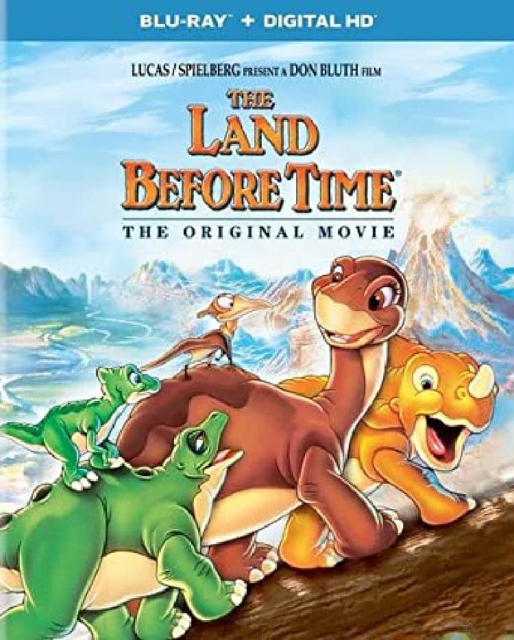 the land before time- cute dino movie for kids